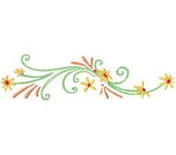 Daisy Swirls 5