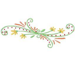 Daisy Swirls 7