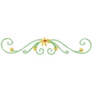 Daisy Swirls 9