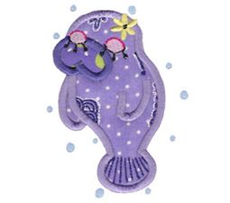 Decorative Sea Creatures Applique 10