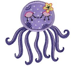 Decorative Sea Creatures Applique 11