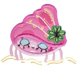 Decorative Sea Creatures Applique 7
