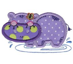 Decorative Sea Creatures Applique 8