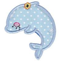 Decorative Sea Creatures Applique
