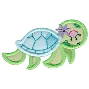 Decorative Sea Creatures Too Applique 10