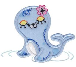 Decorative Sea Creatures Too Applique 2