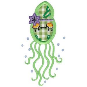 Decorative Sea Creatures Too Applique 6