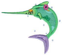 Decorative Sea Creatures Too Applique 9