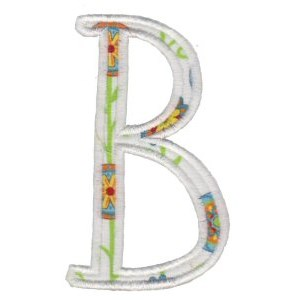 Delicious Applique Alphabet b