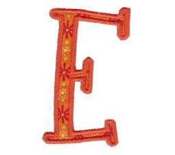 Delicious Applique Alphabet e