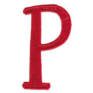 Delicious Applique Alphabet p
