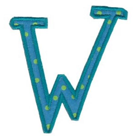 Delicious Applique Alphabet w