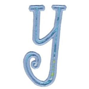 Delicious Applique Alphabet y