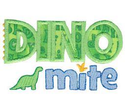 Dinomites Applique 16