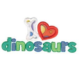 Dinomites Applique 18