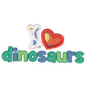 Dinomites Applique 18
