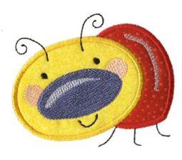 Doodle Bugs Applique 1