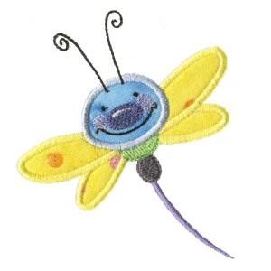 Doodle Bugs Applique 6