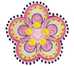 Fabulous Flowers Applique 10
