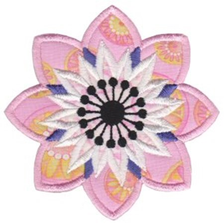 Fabulous Flowers Applique 12