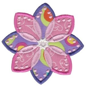 Fabulous Flowers Applique 13