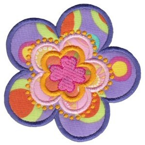 Fabulous Flowers Applique 16