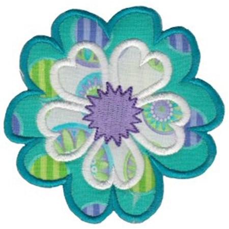 Fabulous Flowers Applique 17