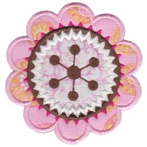 Fabulous Flowers Applique 4