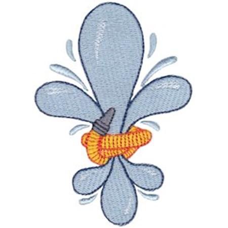 Fanciful Fleur De Lis 13