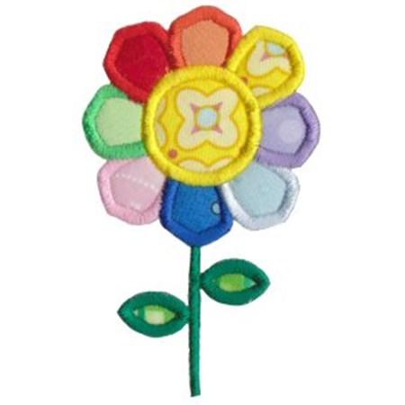 Flower Power Applique 11