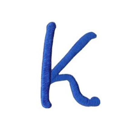 Freehand Alphabet Capital K