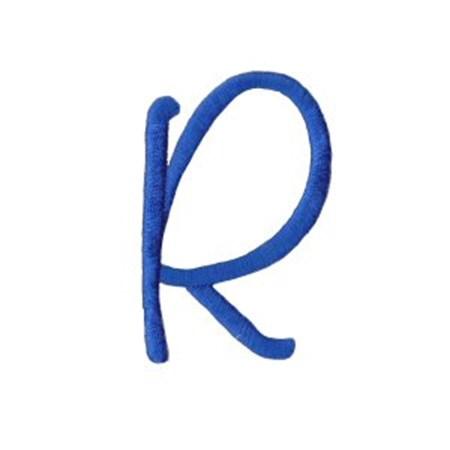 Freehand Alphabet Capital R