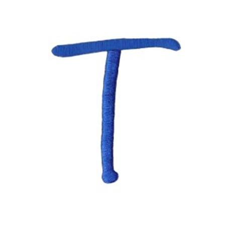 Freehand Alphabet Capital T