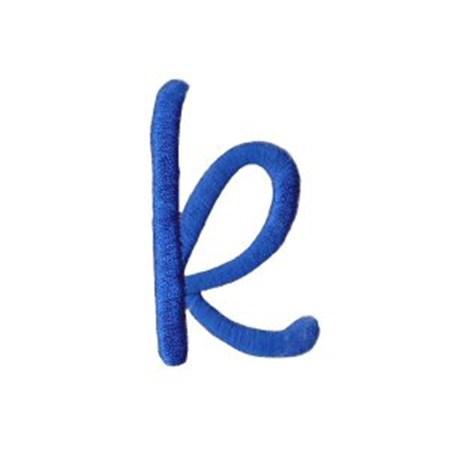 Freehand Alphabet Lower Case k
