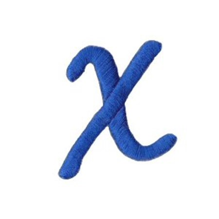 Freehand Alphabet Lower Case x