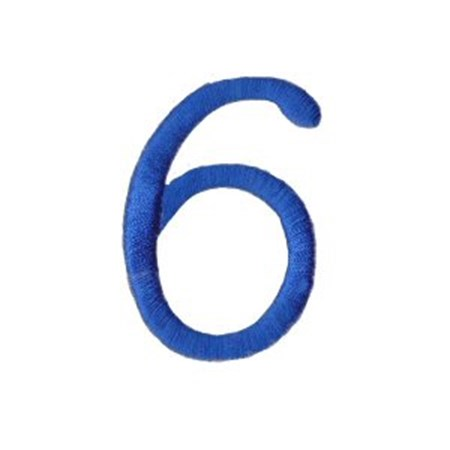 Freehand Alphabet Number 6