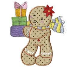 Gingerbreads Applique 1