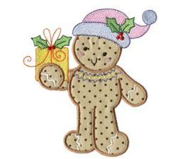 Gingerbreads Applique 10
