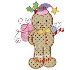 Gingerbreads Applique 2