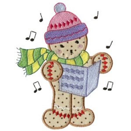 Gingerbreads Applique 9
