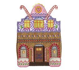 Gingerbread Village Applique 12