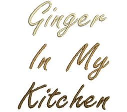 Ginger in My Kitchen 11