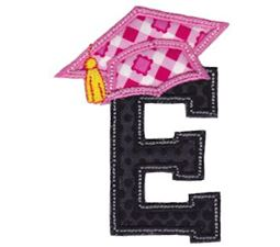 Graduation Alphabet Applique 5