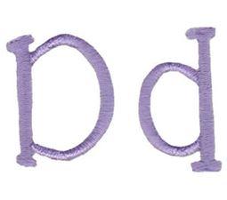 Grandmas Garden Alphabet D