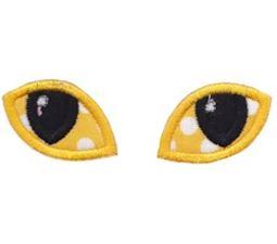 Halloween Eyes Applique 4