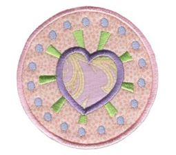 Hearts And Circles Applique 5