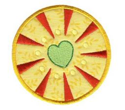 Hearts And Circles Applique 7