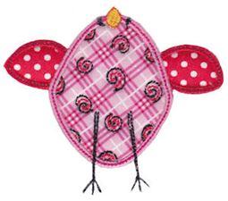 Here Birdy Applique 9
