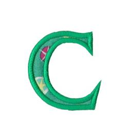 Holly Alpha Lower Case c