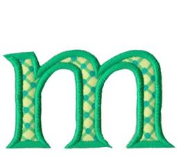 Holly Alpha Lower Case m